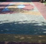 Mosaico en el Parque Rosario Felgueroso