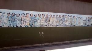 Pintura mural Teatro de La Felguera Langreo Sánchez Prieto