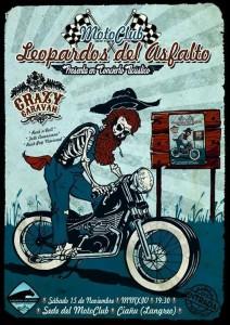 Concierto de Crazy Caravan @ Sede Leopardos del Asfalto | Langreo | Principado de Asturias | España