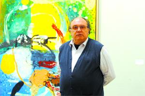 Miguel Ángel Lombardía pintor samense de Sama de Langreo