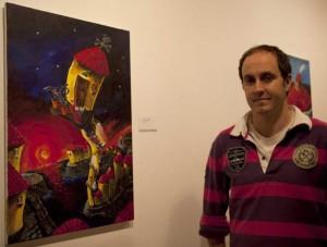 Javier Antuña Zamarro Pintor pintura Langreo artista