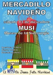 Mercadillo navideño @ MUSI | Langreo | Principado de Asturias | España