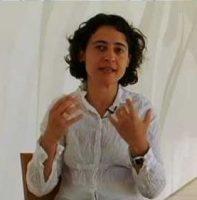 Rosana Castrillo pintora escultora natural de La Nalona Sama de Langreo