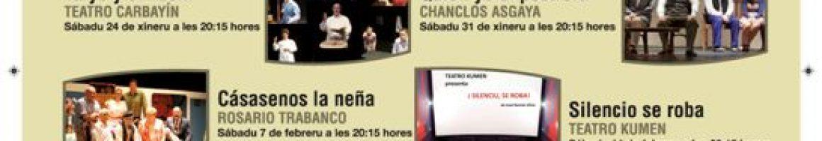 Ciclo de teatro costumbrista asturiano Teatro la Felguera 2015