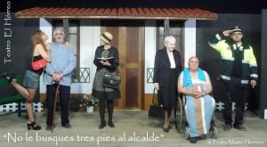 Teatro: No le busques tres pies al alcalde @ Teatro de La Felguera   Langreo   Principado de Asturias   España