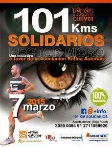 101Km solidarios de Héctor Moro @ Barrio El Pilar, Langreo