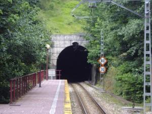 Boca Sur Túnel Ferrocarril Langreo Curuxona Carbayín Candín Siero Ruta de los orígenes Mineros