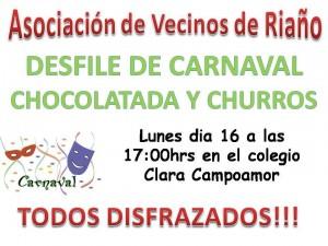 Carnaval en Riaño @ Colegio Clara Campoanor