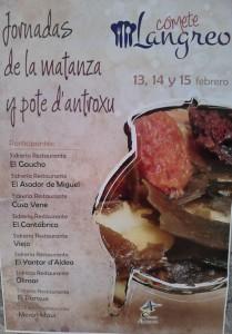 Jornadas gastronómicas de la matanza y pote d'antroxu @ Langreo, asturias | Langreo | Principado de Asturias | España