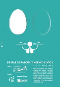 Fiestas de pascua y Huevos Pintos en Sama de Langreo 2015