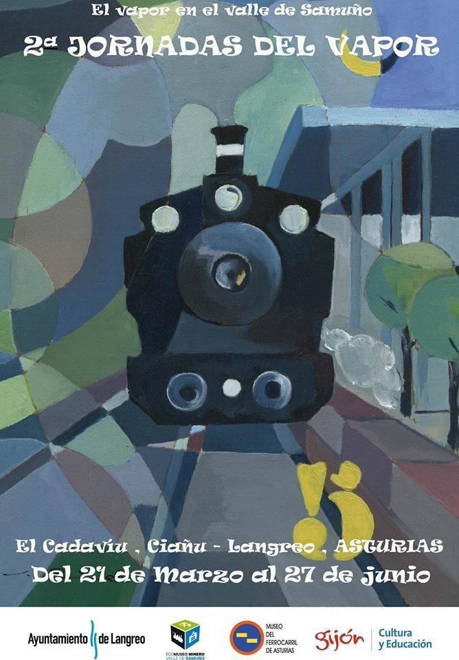 II Jornadas del Vapor en el Ecomuseo Minero del Valle del Samuño en Langreo