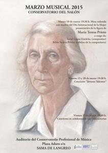 Marzo Musical en el Conservatorio Valle del Nalón Sama de Langreo