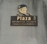 Placa a Antonio Fernández Velasco