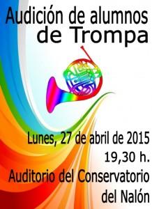Audición alumnos de trompa @ Conservatorio Valle del Nalón | Langreo | Principado de Asturias | España