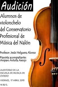 Audición alumnos de violonchelo @ Conservatorio Valle del Nalón | Langreo | Principado de Asturias | España