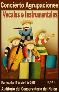 Concierto de agrupaciones vocales e instrumentales @ Conservatorio Valle del Nalón | Langreo | Principado de Asturias | España
