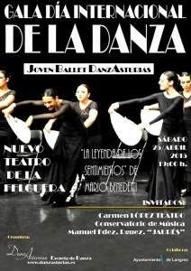 Gala del día internacional de la danza 2015 @ Nuevo Teatro de La Felguera | Langreo | Principado de Asturias | España