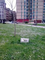 Monumento homenaje a la mujer en el parque del Sutu Pinín La Felguera Langreo
