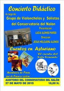 Concierto didáctico: Cuentos en asturiano @ Conservatorio Valle del Nalón | Langreo | Principado de Asturias | España
