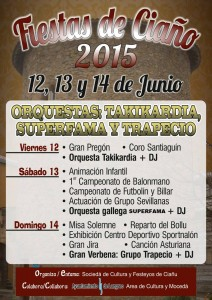 Fiestas de Ciaño 2015 Langreo