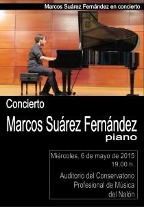 Concierto: Marcos Suárez Fernández @ Conservatorio Valle del Nalón | Langreo | Principado de Asturias | España
