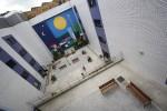 Pintura mural en la residencia de ancianos Ntra. Sra. del Fresno