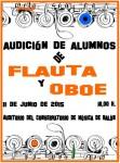 Audición de alumnos de flauta y oboe