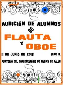 Audición de alumnos de flauta y oboe @ Conservatorio Valle del Nalón | Langreo | Principado de Asturias | España