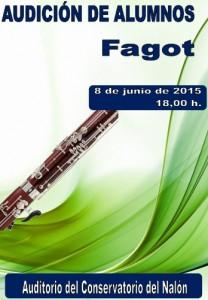 Audición alumnos de fagot @ Conservatorio Valle del Nalón | Langreo | Principado de Asturias | España