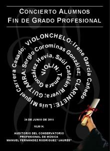 Concierto alumnos fin de grado profesional @ Conservatorio Valle del Nalón | Langreo | Principado de Asturias | España