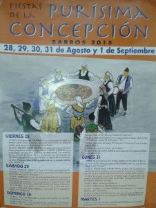 Fiestas de la Purísima Concepción en Barros - Langreo 2015