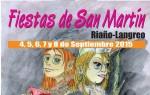Programa de las fiestas de San Martín de Riaño 2015