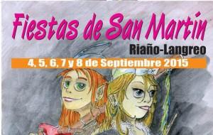 Fiestas de San Martín de Riaño 2015 Langreo