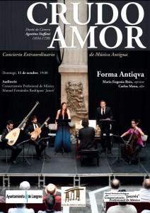 Concierto: Crudo amor (FORMA ANTIQVA) @ Conservatorio Valle del Nalón | Langreo | España