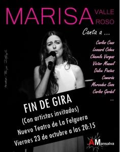 Concierto: Marisa Valle Roso canta a... @ Nuevo Teatro de La Felguera | Langreo | Principado de Asturias | España