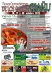 Programa de las fiestas de los callos 2015 en Ciaño