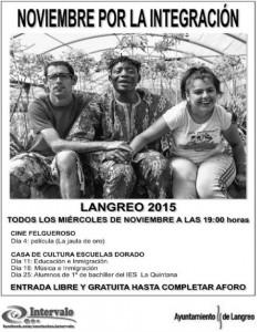 Noviembre por la integración @ Cine Felgueroso / Escuelas Dorado | Langreo | España