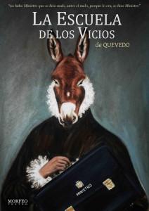 Teatro: La escuela de los vicios @ Nuevo Teatro de La Felguera | Langreo | Principado de Asturias | España