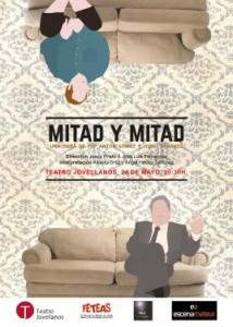 Teatro: Mitad y mitad @ Nuevo Teatro de La Felguera | Langreo | Principado de Asturias | España