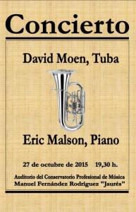 Concierto de tuba y piano @ Conservatorio Valle del Nalón | Langreo | Principado de Asturias | España