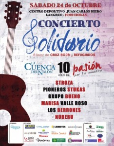 Concierto Solidario: 10 años de La Cuenca del Nalón @ Centro deportivo Juan Carlos Beiro | Langreo | Principado de Asturias | España