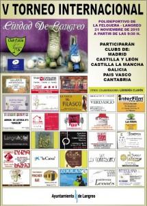 V Torneo Internacional Ciudad de Langreo de patinaje @ Polideportivo de La Felguera | Langreo | Principado de Asturias | España