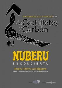 Nuberu en concierto @ Nuevo Teatro de La Felguera | Langreo | Principado de Asturias | España