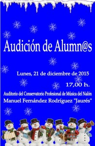 Audición de alumnos del conservatorio @ Conservatorio Valle del Nalón | Langreo | Principado de Asturias | España