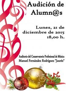 Audición de alumnos del conservatorio @ Conservatorio del Nalón | Langreo | Principado de Asturias | España