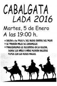 Cabalgata de Reyes 2016 en Lada @ Lada | Lada | Principado de Asturias | España