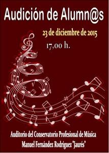 Audición de alumnos del Conservatorio del Nalón @ Conservatorio Valle del Nalón | Langreo | Principado de Asturias | España