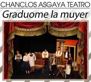 Teatro: Graduóme la muyer @ Nuevo Teatro de La Felguera | Langreo | Principado de Asturias | España