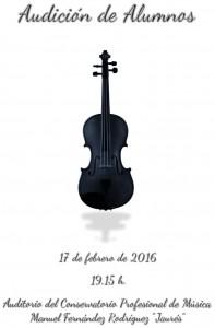 Audición de alumnos de violín @ Conservatorio del Nalón | Langreo | Principado de Asturias | España