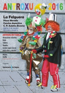 Fiestas de carnaval en La Felguera 2016 @ Plaza Merediz | Langreo | Principado de Asturias | España